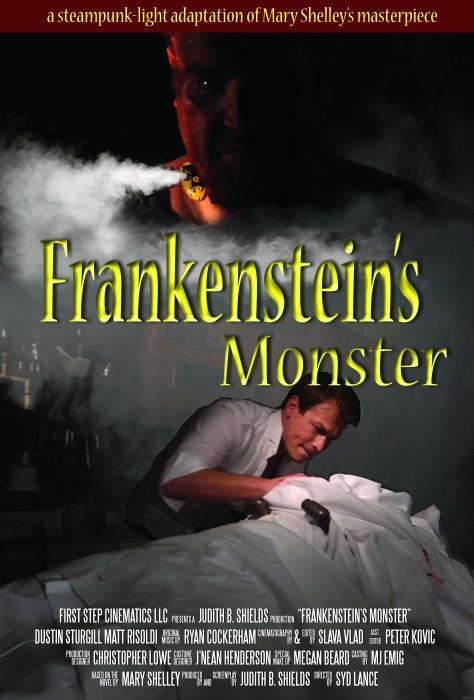 Frankenstein Poster 1-b